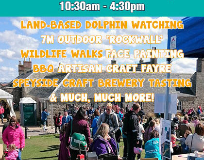 Really Wild Festival at the Scottish Dolphin Centre